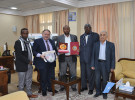 DSU has signed a collaboration with Salahidin University